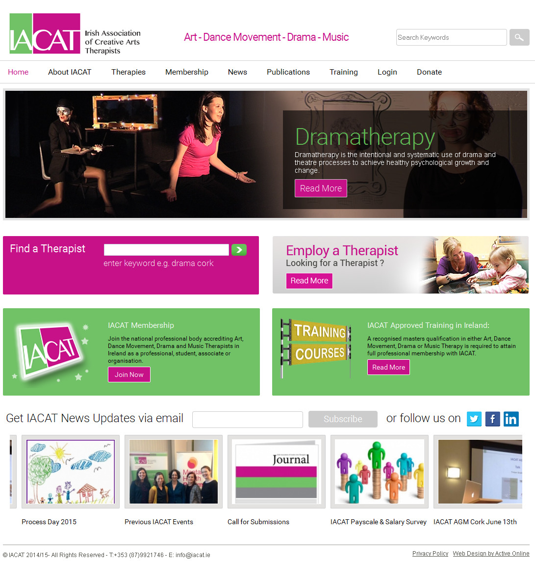 assocaition website development
